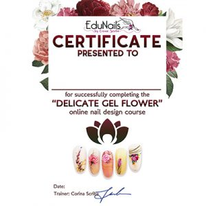Diploma Curs Delicate Gel Flower